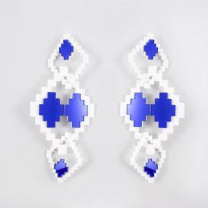 3D XL BLUE & WHITE